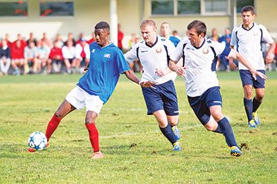 Команда Белорусской магистрали дважды обыграла сборную Франции - в первом матче и в финальной игре турнира