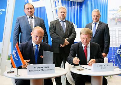 Владимир Морозов и Стасис Дайлидка подписали Меморандум о сотрудничестве в сфере транзитных перевозок грузов железнодорожным транспортом