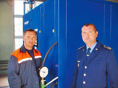 Виталий Голубенко (слева) и Андрей Игнатчик