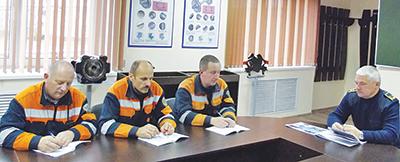 Заместитель начальника депо Тарашкевич С.А
