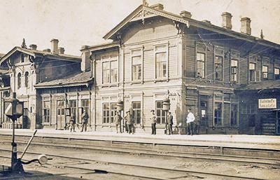 Железнодорожный вокзал в Нарве