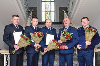 Слева направо: Андрей Корнатко, Андрей Исмагулов, Отари Дакели, Брий Кучинский, Олег Стальмаков