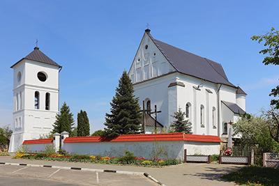 Костел в деревне Чернавчицы