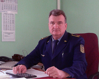 Начальник станции Василий Климович