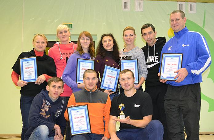 Победители - команда Гомельского отделения