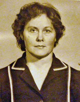 Валентина Даниловна - старшая дочь Пантелея Моисеевича и Анны Адамовны