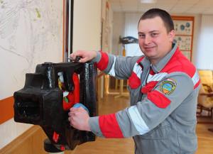Победитель конкурса Андрей Брик (Витебское вагонное депо)
