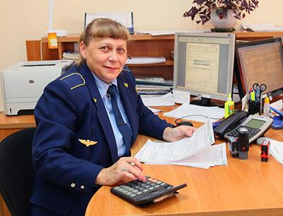 Касир товарный Раиса Савко