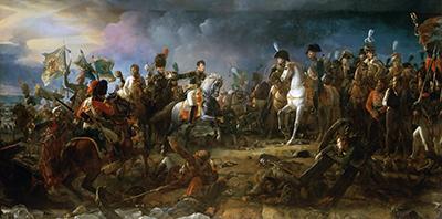 "Картина Франсуа Жерара ""Наполеон в битве под Аустерлицем"""