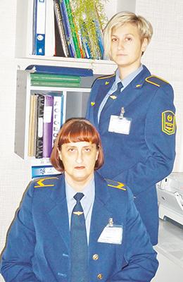 Наталья Даниловна с дочерью Юлией Гануш