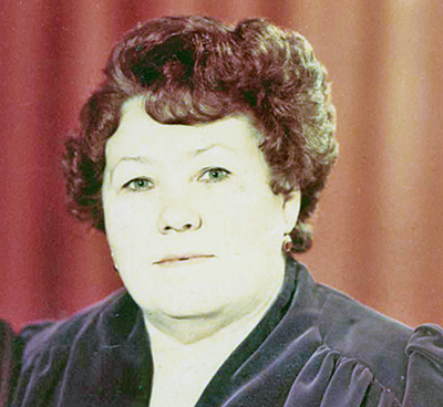 Тамара Чернявская в 80-е годы прошлого века