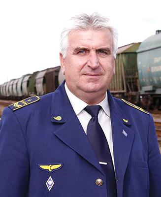 Начальник станции Калий Александр Андреев