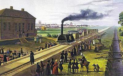 Для Царскосельской железной дороги заказали паровозы из Англии и Бельгии