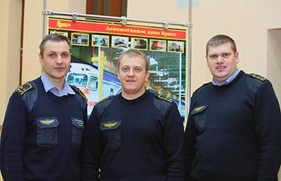 Больше  всего баллов набрали машинисты дизель-поездов Виталий Калинин. Дмитрий Мороз и Сергей Горленко (он стал лучшим по профессии)
