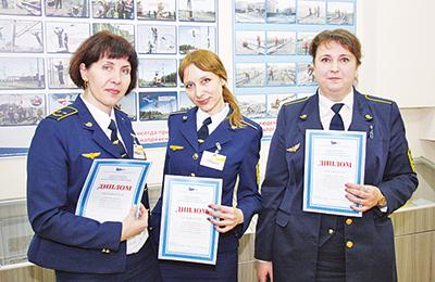Победительницы в трех номинациях: Нина Говязина, Ольга Титова и Валентина Нестер