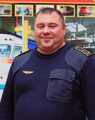 Лучший машинист электропоезда - Николай Гайсенко из депо Осиповичи