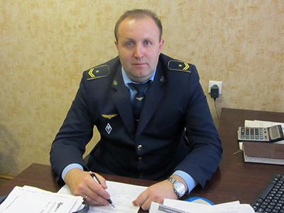 Начальник лаборатории Игорь Панцевич