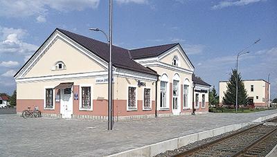 Обновленная станция Дрогичин