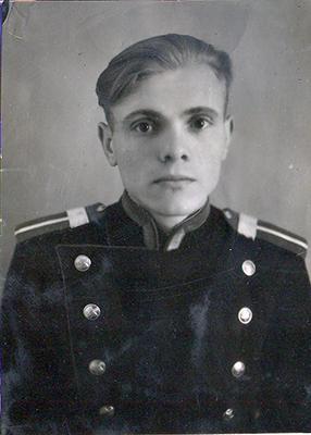 Старший сержант Грушанов. Линейный отдел милиции на станции Жлобин, 1947 г.
