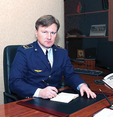 Начальник Калинковичской дистанции пути Сергей Кукса