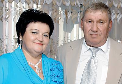 Алла Станчик со своим супругом Геннадием