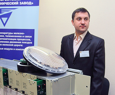 Павел Готько демонстрирует новые светодиодные системы