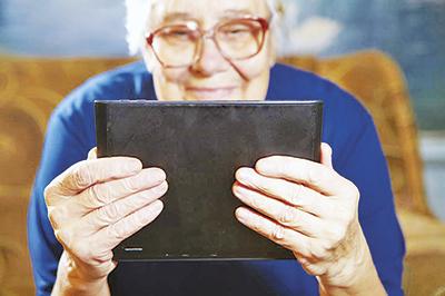 бабушка-планшет