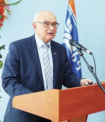 Николай Крысенко переизбран председателем Дорожной организацией Красного Креста