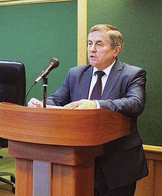 Председатель Дорпрофсожа Владимир Ринг