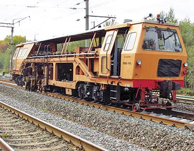 Самоходная железнодорожно-строительная машина ВПР ПТ-800