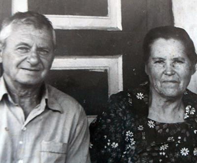 Борис Матуль с женой Татьяной