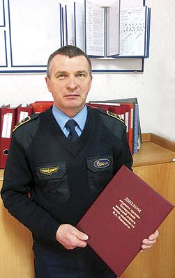 Начальник ПТО Сергей Хазеев