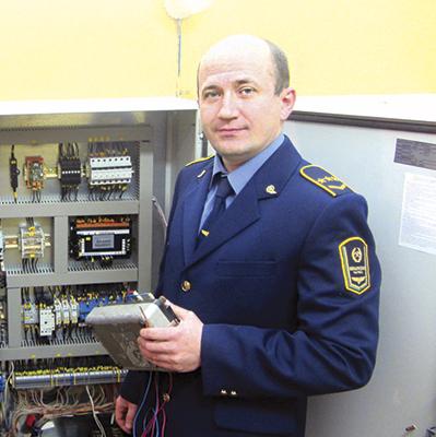 Андрей Нестерук - один из лучших рационализаторов дистанции