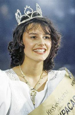 Победительница первого в СССР конкурса красоты Мария Калинина