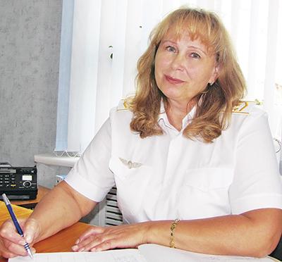 Внучка главы династии Ирина Харитончик - начальник станции Гродзяека