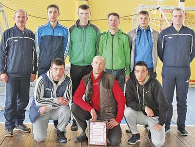 Команда Могилевского вагонного депо - победитель узлового первенства по мини-футболу