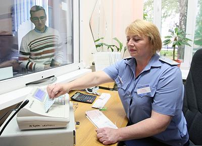 Билетный кассир Анна Кравцова