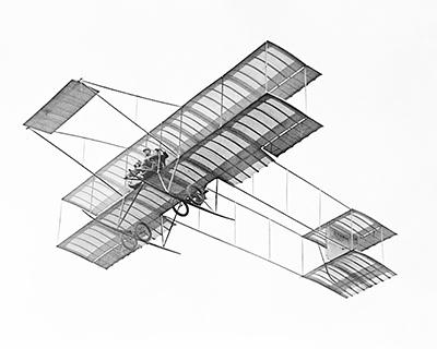 Самолет, разработанный французским авиаконструктором Анри Фарманом