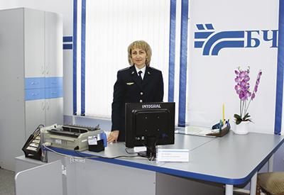 Обновленное рабочее место коммерческого агента по транспортному обслуживанию Ольги Якубович