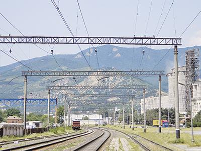 Обходная железнодорожная линия города Тбилиси, раздел СЦБ