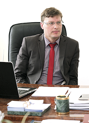 "Директор ""Института ""Белжелдорпроект"" Сергей Шельманов"