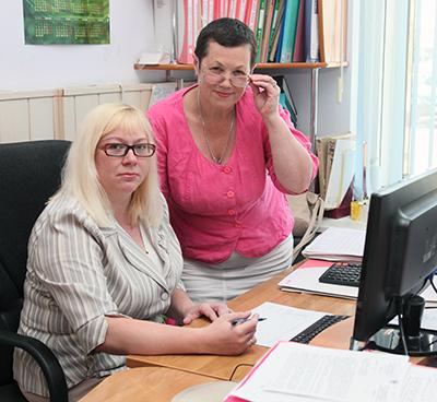 Татьяна Якимец и Анна Баркова