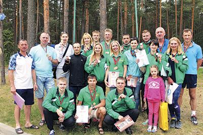 Команда Белорусской железной дороги - победитель спартакиады
