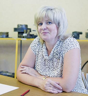 Лучший результат показала Ирина Кныш, из локомотивного депо Могилев