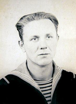 Старший матрос Анатолий Моргун. 1956 г.