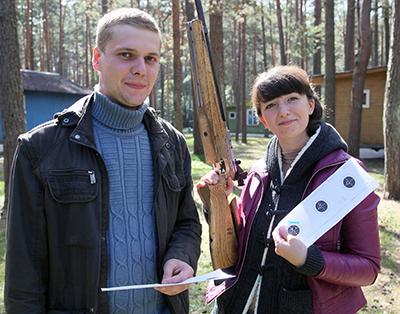 Дмитрий и Вероника Цыбранковы