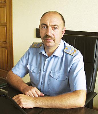 Начальник предприятия Иван Машкетов