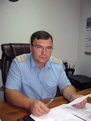 Начальник предприятия Иван Селионов