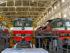 Светодиодные светильники в цеху КР, ТРЗ тепловозов локомотивного депо Орша