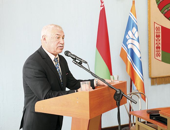 Председатель Республиканского совета Белорусского общественного объединения ветеранов Иван Гордейчик